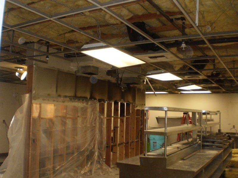 Commercial Kitchen Fire - Before