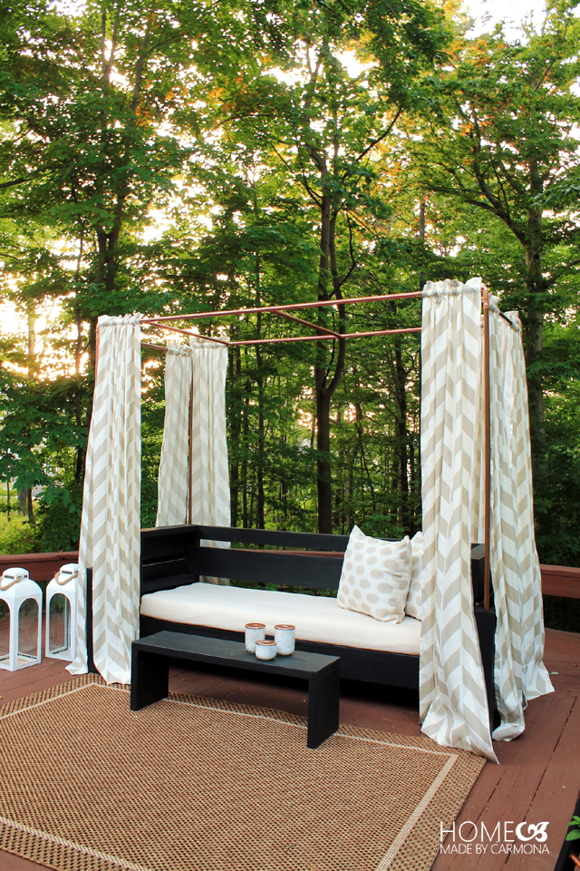 DIY Copper Pipe Mini Cabana
