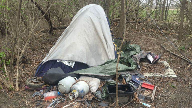 Redmond, Oregon Homeless Camp Cleanup Comes at a Cost