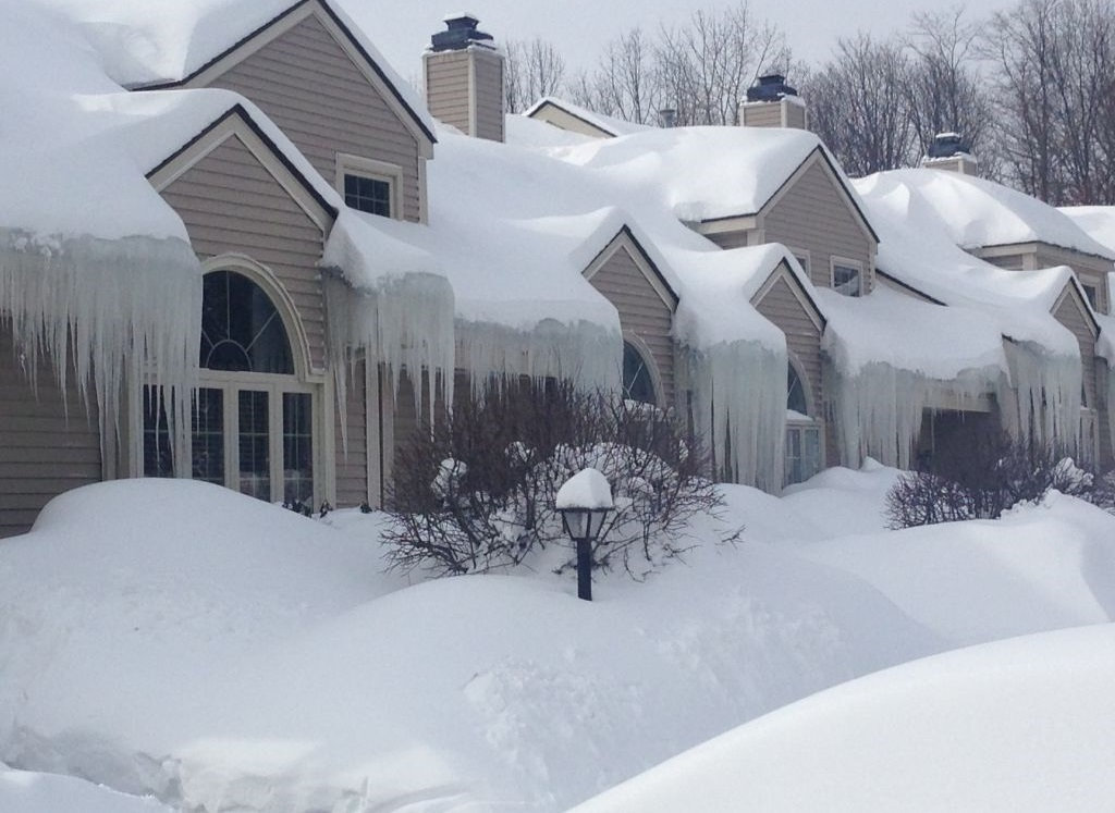 Damage From Ice Dams Can Cause Secondary Damage Spectrum